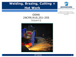 bureau workers comp welding brazing cutting work bureau of workers comp pa