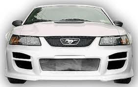 99 mustang bumper 99 04 mustang r34 front bumper fiberglass 99bk r34 fg fb