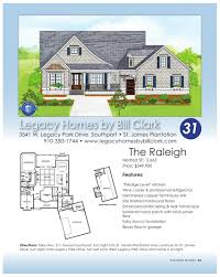 Legacy Homes Floor Plans Brunswick County Parade Of Homes