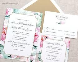 watercolor wedding invitations floral watercolor wedding invitations paperwhites wedding