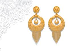 bengali gold earrings online jewellery store india senco gold and diamonds