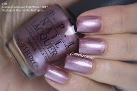 grape fizz nails opi iceland collection fall winter 2017