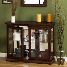wooden and glass doors sideboards astonishing buffet table with glass doors sideboards