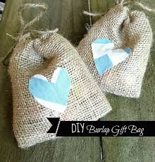 burlap gift bags burlap and bananas no sew burlap gift bag diy tutorial