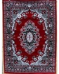 Red White And Black Rug Amazing Deal On 0889 Red Gray Black White 5 U00272x7 U00272 Isfahan Area Rug
