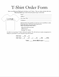 Blank Resume Form Templates Word Shirt Order Form Sample Intern Resume Template Microsoft