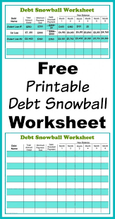 Get Out Of Debt Budget Spreadsheet by The List Of Budgeting Printables From Busy