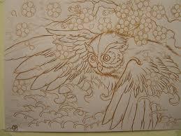 japanese owl by asatorarise on deviantart