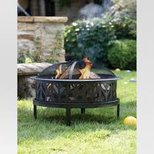 target fire pit table 26 fire pit with arrow cutouts threshold target