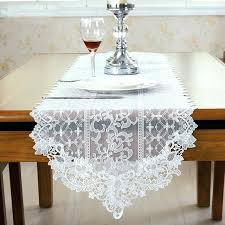 lace table runners wholesale gray and white table runner fashion style white lace table runner