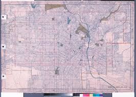 City Of Los Angeles Map by File Wpa Land Use Survey Map For The City Of Los Angeles Book 6