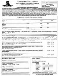 chuck e cheese application online printable employment form