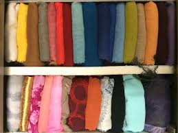 How To Organize How To Organize Your Tudung Hijab Shawls In Your Drawer