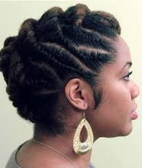 pictures of flat twist hairstyles for black women 20 classy updos for natural hair