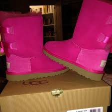 ugg boots on sale size 5 31 ugg other pink ugg size 2 in will fit a size