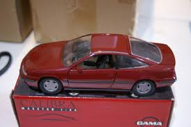 opel calibra gama vauxhall opel calibra 3 door burgundy red 82106000 in 1 24
