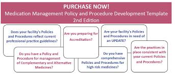 meditrax the medication management policies and procedures
