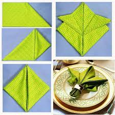 how to fold table napkins 20 best diy napkin folding tutorials for christmas how to fold