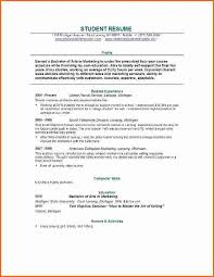 resume exles high education only disclaimer 38 new photograph of resume exles college student resume