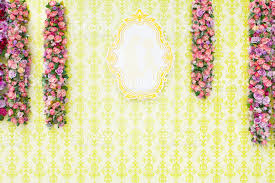 wedding backdrop vector beautiful wedding backdrop or postcard background with flower