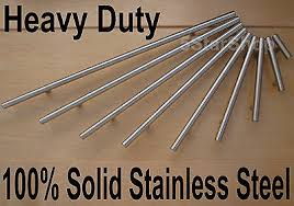 how to clean stainless steel kitchen handles heavy duty modern solid stainless steel kitchen cabinet handles bar t handle ebay