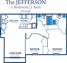 100 the jeffersons apartment floor plan 1 2 and 3 bedroom