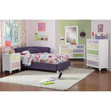 hanover piece king storage bedroom set cherry value city and