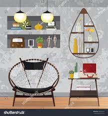 flat design vector illustration modern home stock vector 542881015