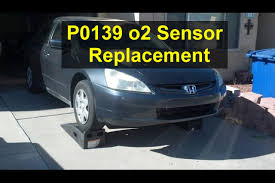 2004 honda accord oxygen sensor error code p0139 o2 sensor replacement honda accord votd