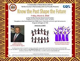 the past shape the future black history month celebration