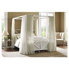 Metal Canopy Bed Bed Metal Canopy Ushareimg Bedding Decor Throughout Beds