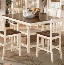 whitesburg square dining room counter ext table by signature