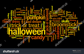 28 halloween word a z word cloud dealing with halloween