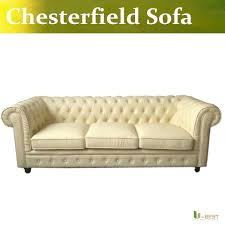 Leather Sofa Beige U Best High Quality Leather Chesterfield Sofa In Beige Color Brand