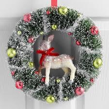 christmas wreaths and garland world market