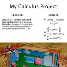 Calculus Meme - calculus with kirby by batwoman meme center