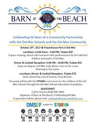 Barn Partnership Barn At The Beach Celebrate Del Mar Dmsef
