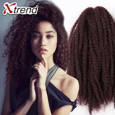 can you dye marley hair black color afro kinky braiding hair 18inch synthetic brazilian