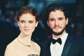 his and wedding kit harington messed up his wedding to leslie