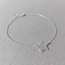 sterling silver star charm bracelet images Sterling silver star charm bracelet macaroon jewellery jpg