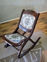 Aluminum Folding Rocker Lawn Chair by Vintage Folding Rocking Chair Ideas Home U0026 Interior Design