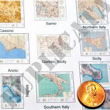 Maps Italy Diorama Accessory Allied Maps Italy Ww2 1 35 Scale