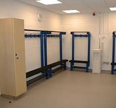 Changing Room Benching Blackburn Rovers Football Club