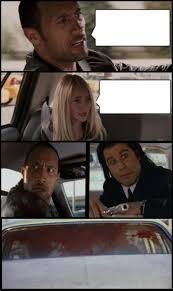 The Rock Meme Car - the rock driving and pulp fiction too memes imgflip