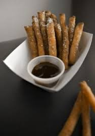 funnel cake fries from xtreme fries at kauffman stadium