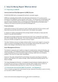 Resume For Job by Finance And Commercial Management Service Plan 2009 10 Word