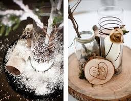 Winter Decorations For Wedding - creative winter wedding ideas