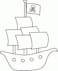 excellent pirate ship coloring page 62 9344