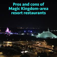table service magic kingdom the pros and cons of all magic kingdom area resort restaurants