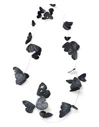 black butterfly necklace shop fingergluck by iris merkle s o j e